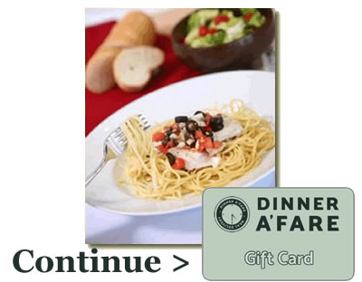 Dinner A Fare Gift Cards