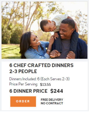 Dinner Kits are family friendly at Dinner A'Fare