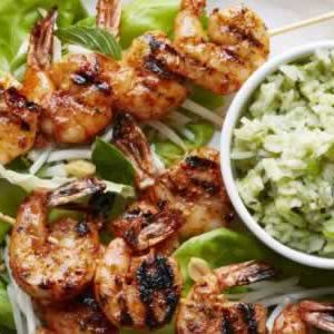 Thai Shrimp with Basil-Coconut Rice Meal Kit