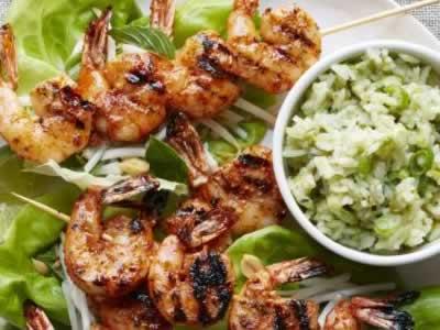 Thai Shrimp with Basil-Coconut Rice Meal Kit