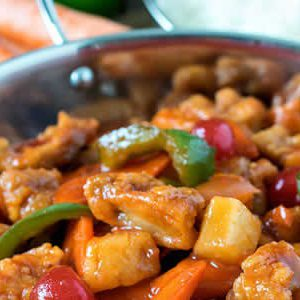 Sweet and Sour Chicken Dinner A'Fare Meal Kit