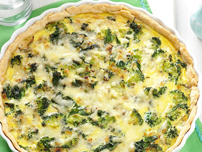 Broccoli Quiche Dinner A'Fare