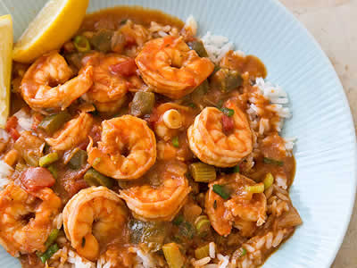 Shrimp Meal Kit Dinner A'Fare