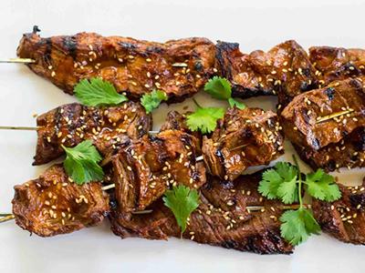 Asian Style Beef Yakitori Family Friendly Meal Kits