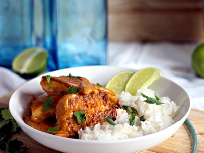 Caribbean Tilapia with Coconut Rice Dinner A;Fare