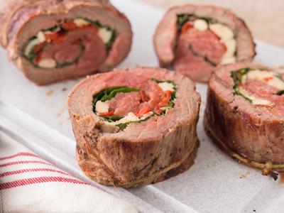 Italian Bracciole Stuffed Flank Steak Meal Kit