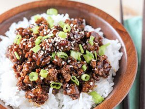 Korean Beef Rice Bowls Dinner A'Fare Meal Kits