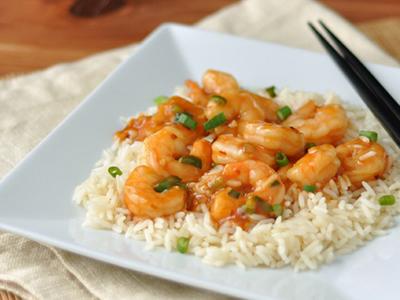 Szechuan Shrimp Meal Kit Dinner A'Fare