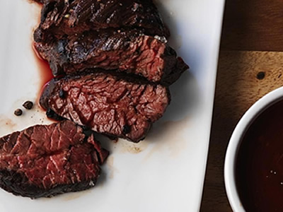 Texas Steak with Worcestershire Mustard Sauce Dinner A'Fare Meal Kits