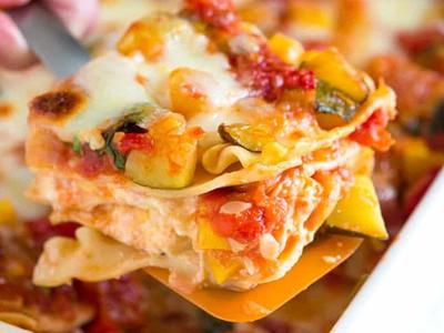 Roasted-Vegetable-Lasagna Meal Kit