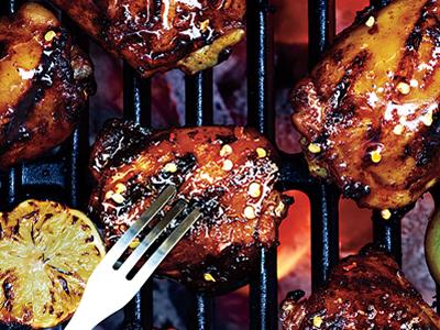 Asian BBQ Chicken with Jasmine Rice